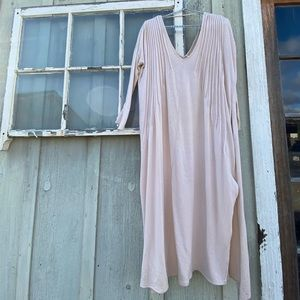Free People Sophie Maxi Champagne Dress (M)